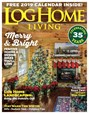 Log Home Living Magazine | 12/2018 Cover