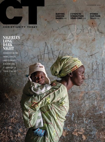 Christianity Today Cover - 11/1/2018