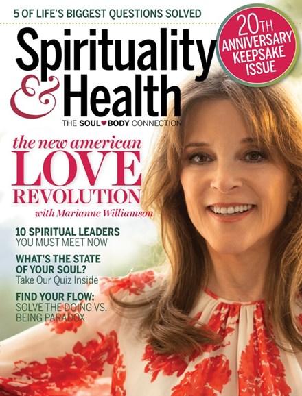 Spirituality & Health Cover - 11/1/2018