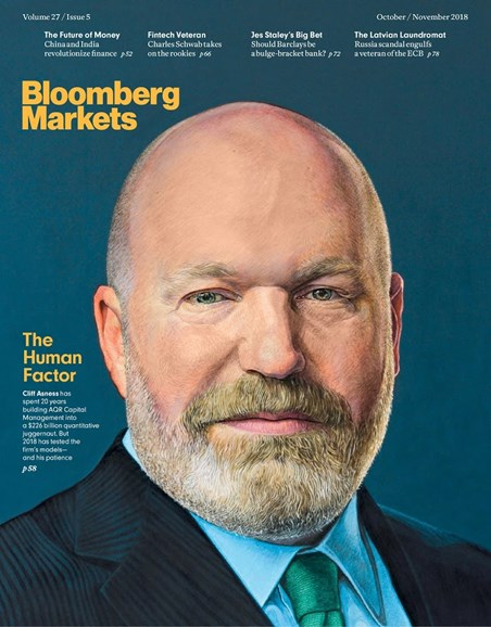Bloomberg Markets Cover - 10/1/2018