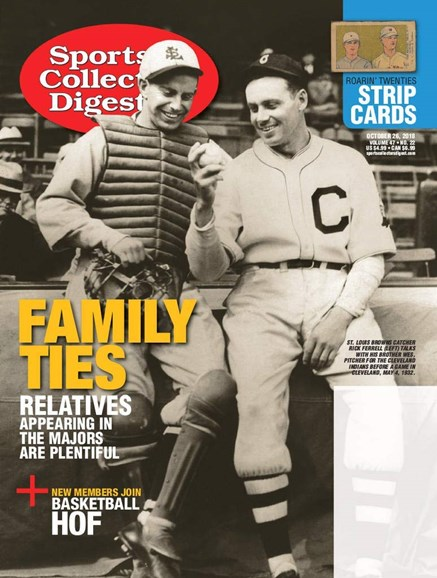 Sports Collectors Digest Cover - 10/26/2018