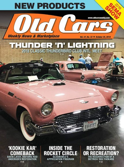 Old Cars Cover - 10/25/2018
