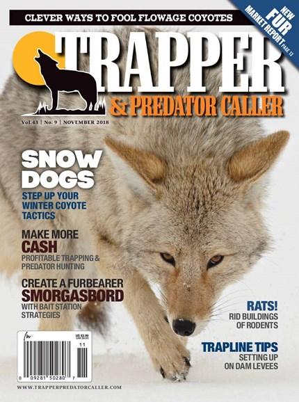 Trapper & Predator Caller Cover - 11/1/2018