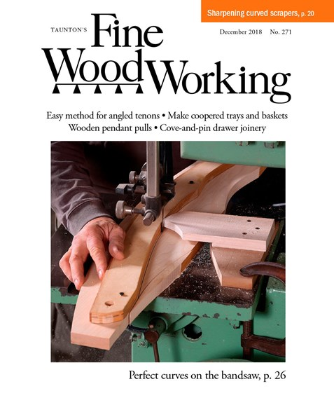 Fine Woodworking Cover - 12/1/2018