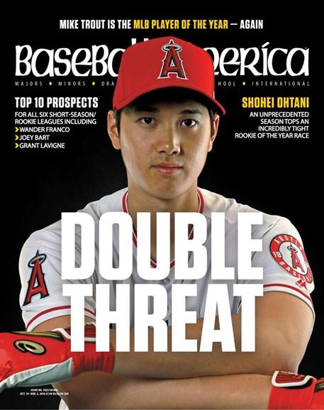 Baseball America Cover - 10/19/2018