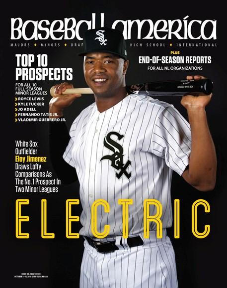 Baseball America Cover - 10/5/2018