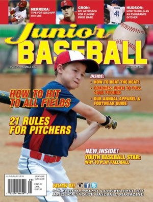Junior Baseball Magazine | 7/1/2018 Cover