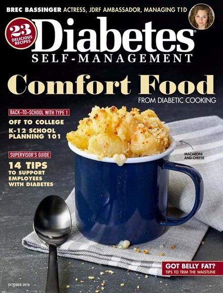 Diabetes Self-Management Cover - 9/1/2018