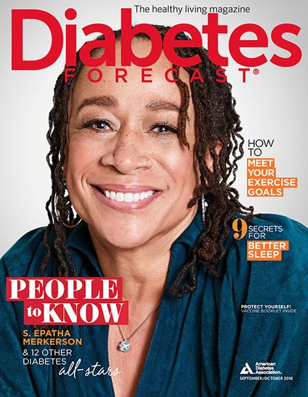 Diabetes Forecast Cover - 9/1/2018