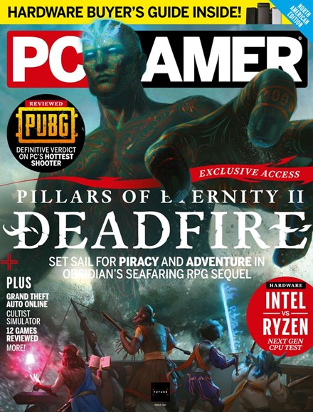 PC Gamer (US Edition) Cover - 4/1/2018