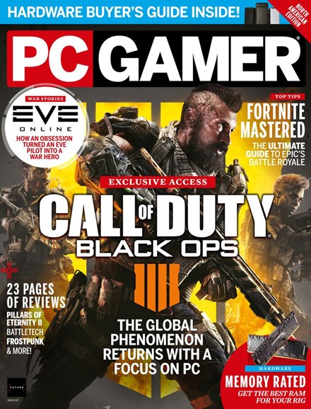 PC Gamer (US Edition) Cover - 8/1/2018
