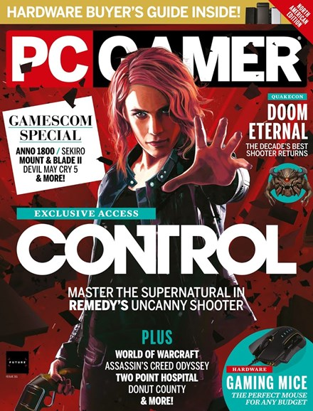 PC Gamer (US Edition) Cover - 12/1/2018
