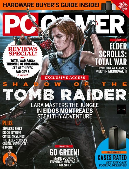 PC Gamer (US Edition) Cover - 7/1/2018