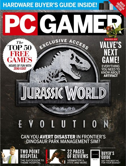 PC Gamer (US Edition) Cover - 6/1/2018