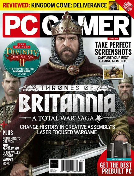 PC Gamer (US Edition) Cover - 5/1/2018