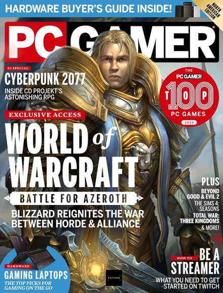 PC Gamer (US Edition) Cover - 10/1/2018