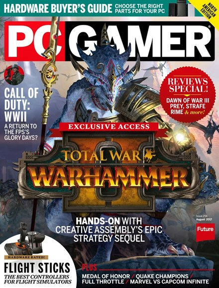 PC Gamer (US Edition) Cover - 8/1/2017