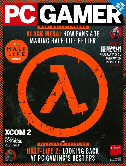 PC Gamer (US Edition) Cover - 12/1/2017