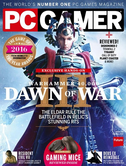 PC Gamer (US Edition) Cover - 2/1/2017