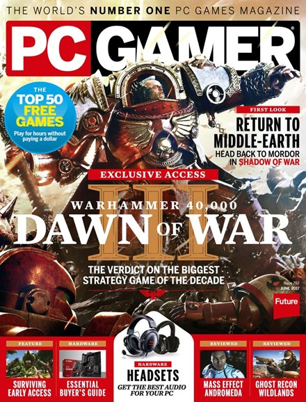 PC Gamer (US Edition) Cover - 6/1/2017
