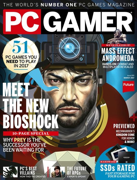 PC Gamer (US Edition) Cover - 3/1/2017