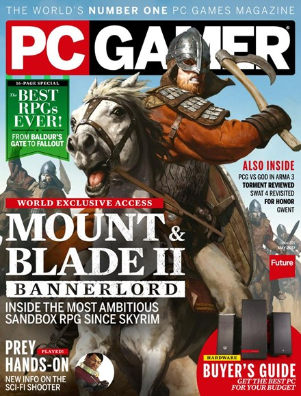 PC Gamer (US Edition) Cover - 5/1/2017