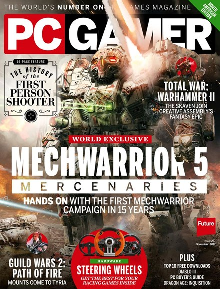 PC Gamer (US Edition) Cover - 11/1/2017