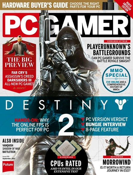 PC Gamer (US Edition) Cover - 9/1/2017