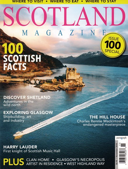 Scotland Magazine Cover - 11/1/2018