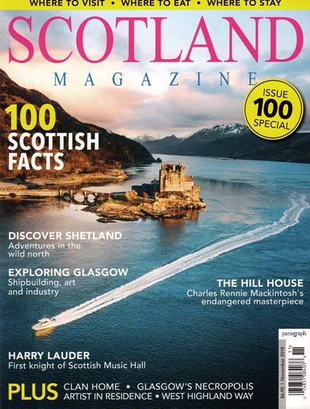 Scotland Magazine Cover - 11/1/2018