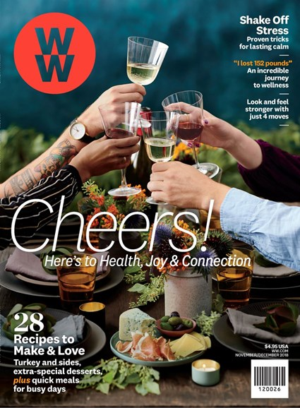 Weight Watchers Magazine Cover - 11/1/2018