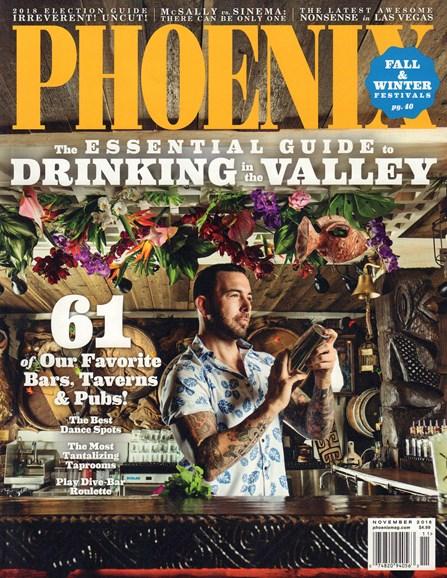 Phoenix Magazine Cover - 11/1/2018
