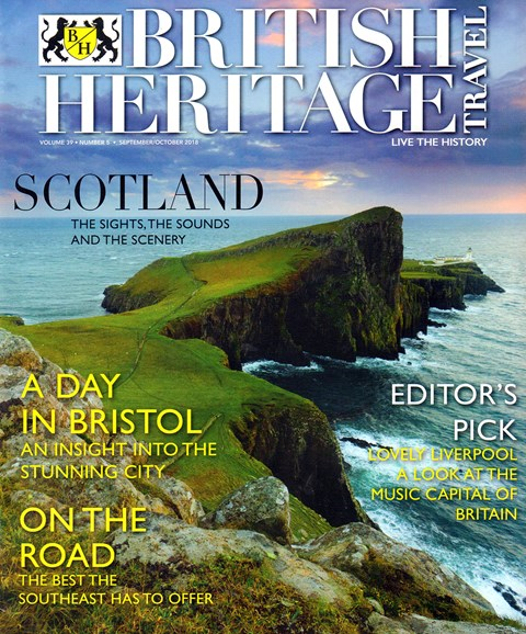 British Heritage Travel Cover - 9/1/2018