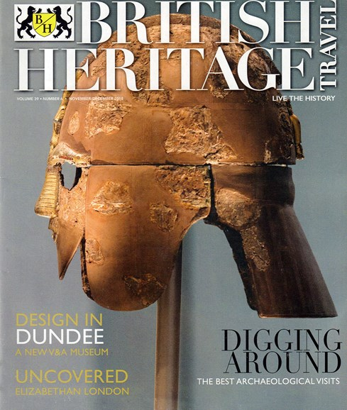 British Heritage Travel Cover - 11/1/2018