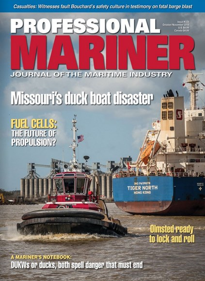 Professional Mariner Cover - 10/1/2018