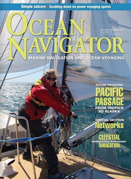 Ocean Navigator Cover - 11/1/2018