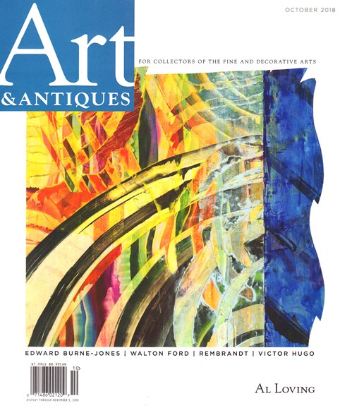 Art & Antiques Cover - 10/1/2018
