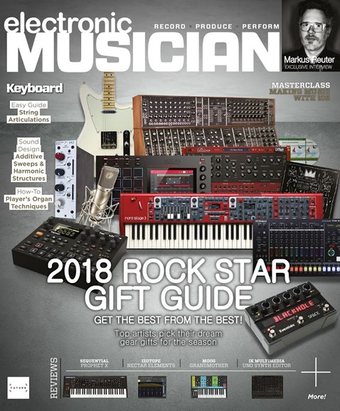 Electronic Musician Cover - 12/1/2018