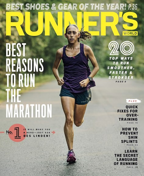 Runner's World Cover - 11/1/2018