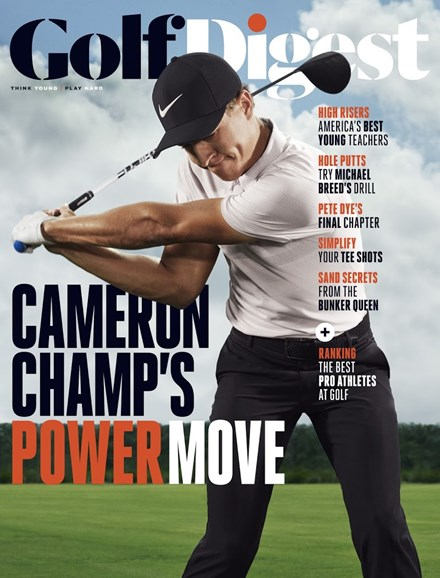 Golf Digest Cover - 11/1/2018