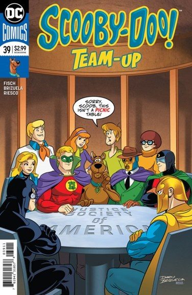 Scooby- Doo Team Up Cover - 8/1/2018