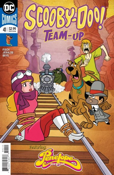 Scooby- Doo Team Up Cover - 10/1/2018