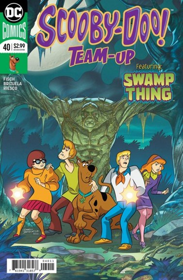 Scooby- Doo Team Up Cover - 9/1/2018