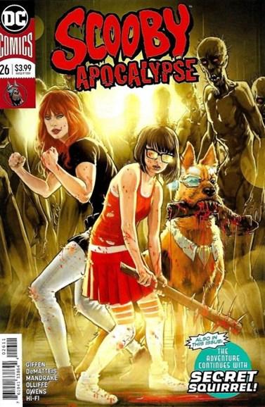 Scooby Apocalypse Cover - 8/1/2018