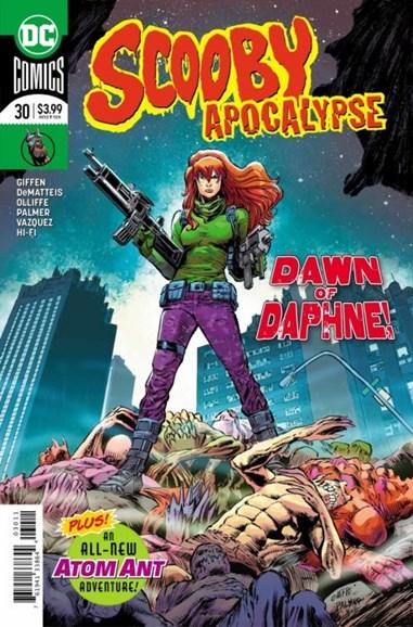 Scooby Apocalypse Cover - 12/1/2018