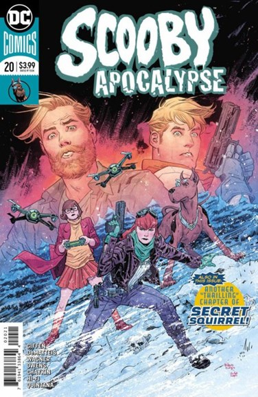 Scooby Apocalypse Cover - 2/1/2018