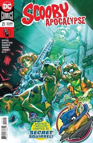 Scooby Apocalypse Cover - 3/1/2018