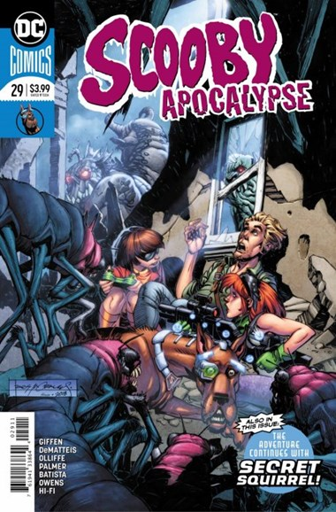 Scooby Apocalypse Cover - 11/1/2018