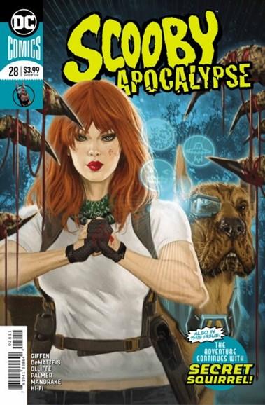Scooby Apocalypse Cover - 10/1/2018