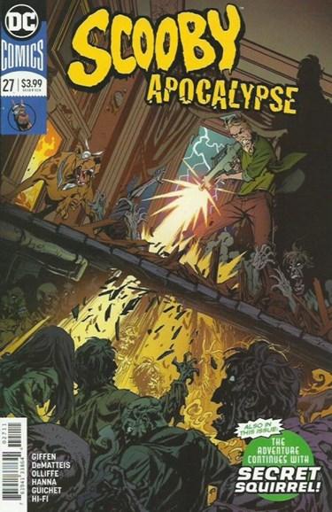 Scooby Apocalypse Cover - 9/1/2018